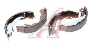 Колодки тормозные HYUNDAI Accent ТАГАЗ задние барабанные (4шт.) HSB HS0002, GS8684, 58305-17A00