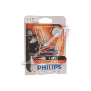 Лампа 12V H9 65W PGJ19-5 блистер (1шт.) PHILIPS 12361B1, P-12361бл