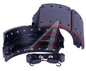 Колодки тормозные SAF SKRS9042 с накладкой (на 1 колесо) (2шт.) WWI BSK2450, 19283/19284, 3434365300/017548