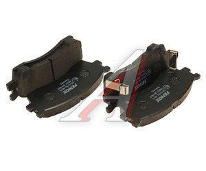 Колодки тормозные KIA Rio передние (4шт.) FENOX BP43150, GDB3285, 0K9B6 33 28Z