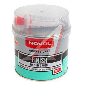 Шпатлевка доводочная NOVOL FINISH 0.75кг NOVOL,