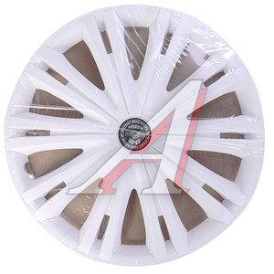 Колпак колеса R-16 декоративный белый комплект 4шт. ГИГА ГИГА бл R-16