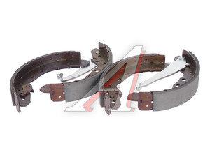 Колодки тормозные AUDI 100, 80 VW Caddy, Passat (81-) задние барабанные (4шт.) TRW GS8544, 357698525CX/357609526C