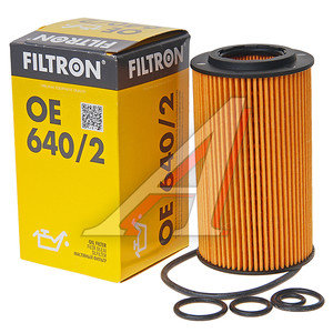 Фильтр масляный MERCEDES C,E,S,M (97-) FILTRON OE640/2, OX345/7D, A1121840625/A1121840525