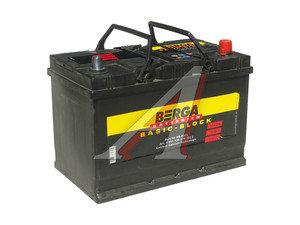 Аккумулятор BERGA Basicblock 91А/ч обратная полярность 6СТ91 BB-D31L, 591 400 074 7902,
