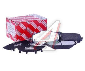 Колодки тормозные TOYOTA Corolla (13-) передние (4шт.) OE 04465-02390, GDB3598