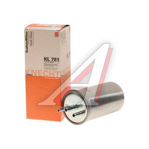 Фильтр топливный RENAULT Duster (10-) MAHLE KL781, 164000884R