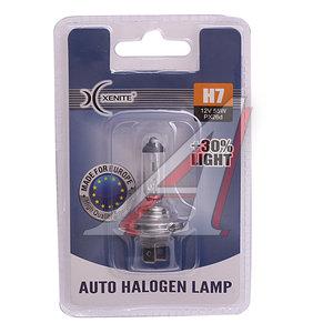 Лампа 12V H7 55W PX26d +30% блистер 1шт. XENITE 1007090
