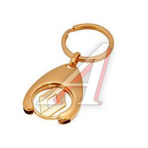 Брелок GOLD RENAULT 24-каратное золотое напыление GOLDEN TOUCH BR-113G,