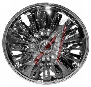Колпак колеса R-13 декоративный хром (цельный) крутящийся комплект 4шт. Тайвань 1247-03B 13,