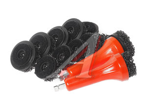 Набор насадок для очистки шпилек ступицы 14 предметов JTC JTC-1541