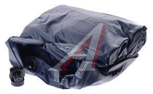 Кровать надувная 188х99х23см 1.5-местная, флок, ножной насос, синяя 67224, 86312