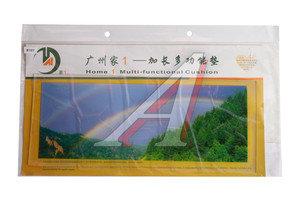Коврик на панель приборов универсальный противоскользящий 400х160 с рисунком радуга ART8107