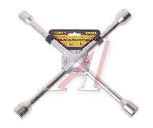 Ключ баллонный крестообразный 17х19х21х23мм усиленный цинк ЕРМАК SJ012Z, 766-006