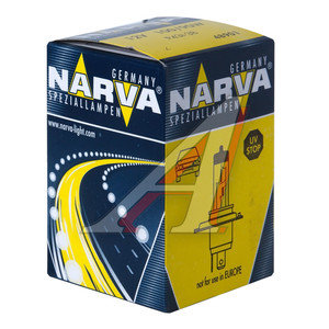 Лампа H4 12V 100/90W P43t Rally NARVA 48901, N-48901