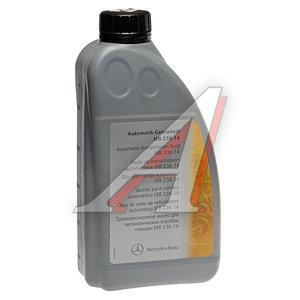 Масло трансмиссионное MERCEDES ATF 1л синт. для АКПП (спецификация 236.14) OE A0019896803AAA6, MERCEDES ATF, A0019896803