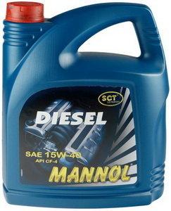 Масло дизельное DIESEL мин.5л MANNOL MANNOL SAE15W40, 1206