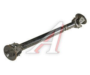 Вал карданный КРАЗ-255Б,250 промежуточный заднего моста (8 отверстий) L=1252мм 255Б-2204010-06
