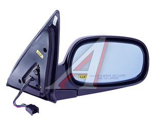 Зеркало боковое SSANGYONG Rexton (03-) правое (черное) (автоскладывание,обогрев) OE 7894008220LAK