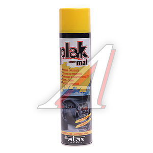 Полироль пластика матовая лимон 600мл PLAK PLAK, 5150