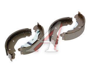 Колодки тормозные FORD Transit (00-06) задние барабанные (4шт.) BASBUG BSG30205006, GS8689, 1227045/4110585