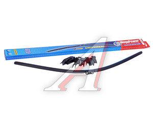 Щетка стеклоочистителя 700мм бескаркасная (7 адаптеров) Universal All Seasons MEGAPOWER M-75028,