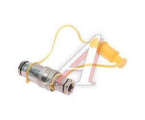 Головка соединительная тормозной системы прицепа 16мм (грузовой автомобиль) желтая комплект NEW FER- 100-3521010/11, АТ-370ж/AT12380, 100-3521010