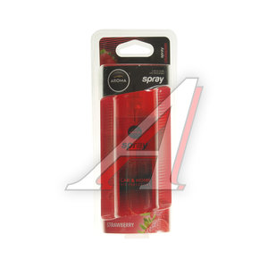 Ароматизатор спрей (клубника) 50мл Car pump spray AROMA 92796, Aroma Car pump\Strawberry