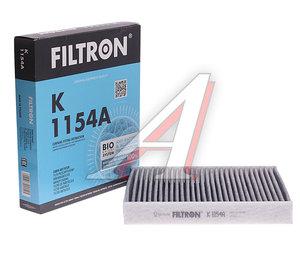 Фильтр воздушный салона FORD C-Max,Mondeo 4,S-Max VOLVO C30,S40 угольный FILTRON K1154A, LAK220