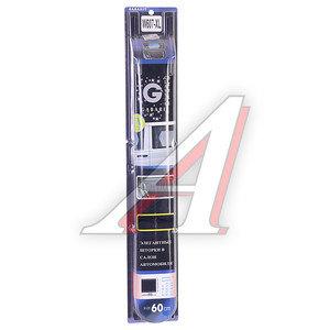 Шторка автомобильная универсальная 60х57-48см роликовая ткань-сетка черная 2шт. GABARIT W-607XL