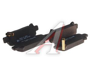 Колодки тормозные SUBARU Forester,Legacy,Impreza задние (4шт.) HSB HP5132, GDB3223, 26696-FC020