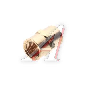 """Переходник для компрессора F1/4""""х1/4"""" соединитель внутренняя резьба FF04/04, PN-FF04/04"""