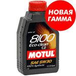 Масло моторное 8100 ECO-CLEAN C2 синт.1л MOTUL MOTUL SAE5W30, 101542