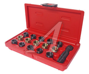 Набор инструментов для восстановления резьбы свечей зажигания (втулки М14х1.25 L=11.2мм,17.5мм) JTC JTC-4864,