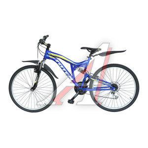 """Велосипед 26"""" 21-ск. двухподвесный сиреневый DRAGON 4.0 TOTEM T15B113 A, T15B113"""
