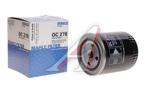 Фильтр масляный OPEL (TD) MAHLE OC278, 93156575