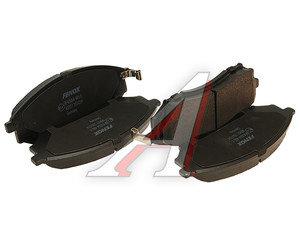 Колодки тормозные INFINITI FX35,45 передние (4шт.) FENOX BP43064, GDB3392, 41060-AR090
