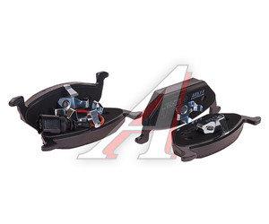 Колодки тормозные VW Golf 5 SKODA Octavia передние (4шт.) TRW GDB1658, 1K0698151F