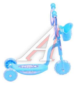 Самокат 3-х колесный детский COOL LARSEN GS-002B-L04, 242631