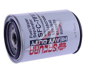 Фильтр топливный HYUNDAI R210 (дв.CUMMINS) SAKURA SFC791230, KC249D/WK1060/3X/P550747/SC1393640, 11LB20310/2914807000/8159975/1393640
