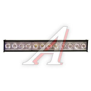 Маяк светодиодный 12V внутрисалонный Red/Red 12 LED 50х280мм GLIPART GT-53110RR