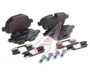 Колодки тормозные BMW 5 (F10,F18),X3 (F25), X4 (F26) задние (4шт.) OE 34216862202, GDB1840