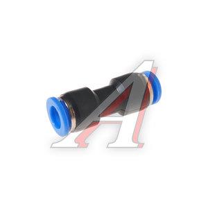 Фитинг для пластиковых трубок 8x8мм ROCK FORCE RF-SPU08