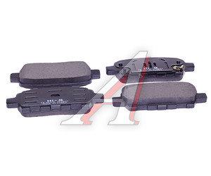 Колодки тормозные NISSAN X-Trail (T30),Pathfinder (R50) задние (4шт.) SANGSIN SP1184, GDB3294, 44060-8H385/44060-AL585 44060-EG085/