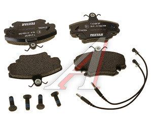Колодки тормозные ЛАДА Ларгус RENAULT Logan,Clio PEUGEOT передние (4шт.) TEXTAR 2146304, GDB1332, 7701207066/425070/6025071042/7701201773