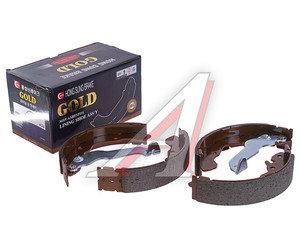 Колодки тормозные HYUNDAI Elantra XD (-00),Matrix (02-) задние барабанные (4шт.) HSB HS0004, GS8678/58305-29A00/28A00, 58305-29A00