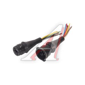Проводка ГАЗ-3302 фонаря заднего с колодкой (2 части) АЭНК РК 3302-3724030-03, СЦАЗ-2-6(В+Р)СБ6, 3302-3724030