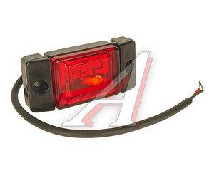 Фонарь габаритный LED 24V, красный (2-светодиода) АВТОТОРГ НК-0066/LED к