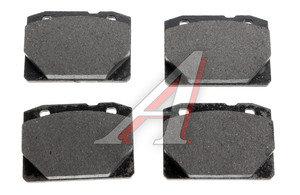 Колодки тормозные ВАЗ-2101 передние (4шт.) FERODO TARGET TAR 96, 2101-3501089
