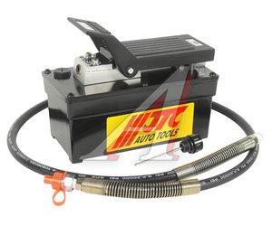 Насос гидравлический с пневмоприводом 257х127х204мм, емкость 1600куб.см JTC JTC-8P120,